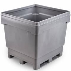 MonsterCombo® 2948, 318 Gallon Bin, 4-Way Rotatable Base (Gray)