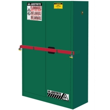 Sure-Grip® EX High Security Pesticides Safety Cabinet, 45 Gallon, M/C Doors, Green