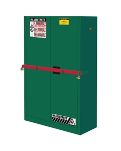 Sure-Grip® EX High Security Pesticides Safety Cabinet, 45 Gallon, S/C Doors, Green