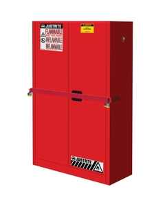 Sure-Grip® EX High Security Flammable Safety Cabinet, 45 Gallon, S/C Doors, Red