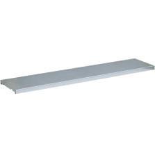 SpillSlope® Half-Depth Steel Shelf for Double 55 Gallon Vertical Drums Cabinets (Justrite® 29947)