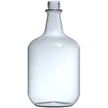 3 Liter Clear Glass Jug, 38mm 38-405 (without handle)