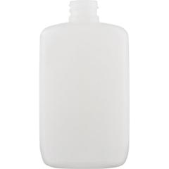 2 oz. Natural LDPE Plastic Oval Bottle, 18mm 18-410