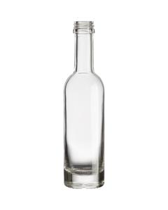 50ml Clear Glass Arizona Liquor Bottle, 18mm Screw Top, 120/cs