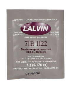 Lalvin 71B-1122 Wine Yeast for Nouveau-Style Wines