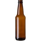 12 oz. (355 ml) Amber Glass Long Neck Beer Bottles, Crown Twist-Off, 26-502 (Bulk Pack)