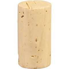 "Grade 3 ""Super"" Natural Wine Corks, Plain, 38 x 24 mm (Higher Grade), 1,000/pk"