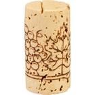 "Grade 3 ""Super"" Natural Wine Corks, Print, 38 x 24 mm (Higher Grade), 1,000/pk"