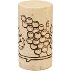 """Grade 1 """"Flor"""" Natural Wine Corks, Print, 45 x 24 mm (Highest Grade), 1,000/bag"""