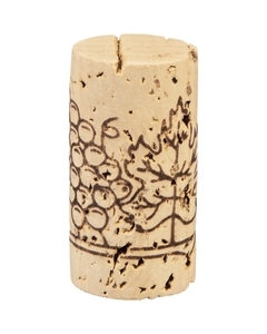 "Grade 3 ""Super"" Natural Wine Corks, Print, 45 x 24 mm (Higher Grade), 1,000/bag"
