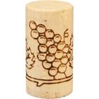 """Grade 1 """"Flor"""" Natural Wine Corks, Print, 49 x 24 mm (Highest Grade), 1,000/pk"""