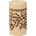 Slimcork® II Natural Wine Corks, Print, 44 x 24 mm, 1,000/bag