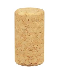 G3 Agglomerated Wine Corks (2-3), Plain, 44 x 24 mm, 1,000/bag