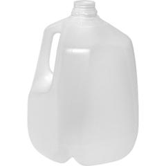 1 Gallon (128 oz.) Natural HDPE Plastic Dairy Milk Jug, 38mm 358DBJ, 62 Grams