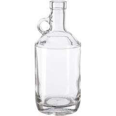 750 ml Clear Glass Moonshine Jug, Bar Top, 12/cs