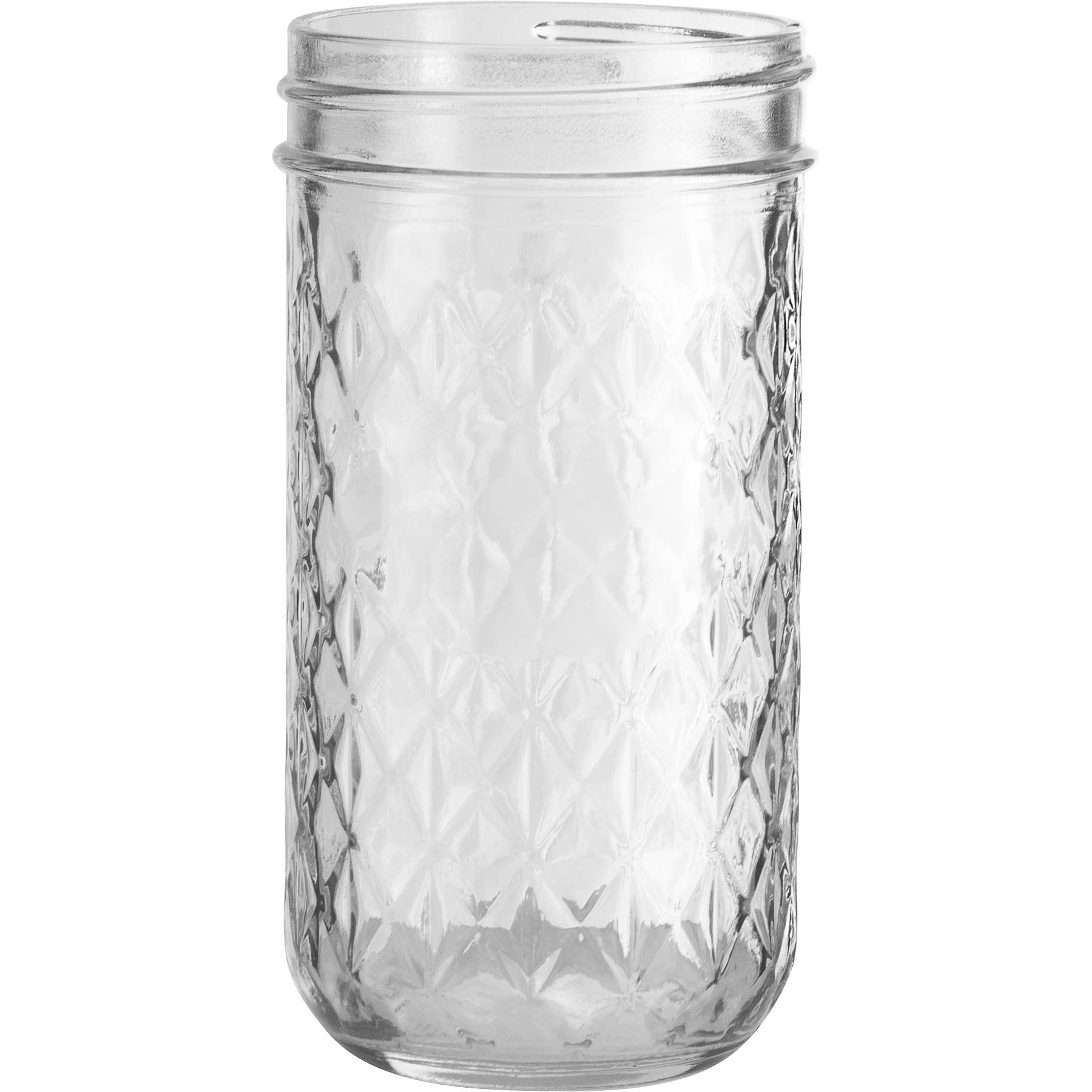 Ball 174 12 Oz Quilted Crystal Jelly Jars No Lid Bulk Packed