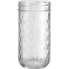 Ball 12 oz. Quilted Crystal Jelly Jars (No Lid, Bulk Packed)