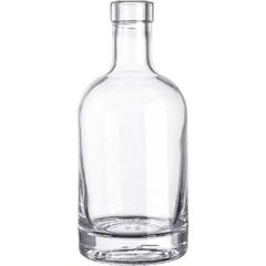 375 ml Clear Glass Nordic Liquor Bottle, Bar Top, 12/cs