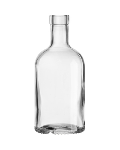 375 ml Clear Glass Oregon Liquor Bottle, Bar Top, 12/cs