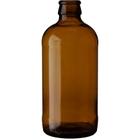 12 oz. (355 ml) Amber Glass Stubby Beer Bottles, Crown Pry-Off, 26-611 (Bulk Pack)