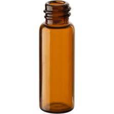 1/2 dram (2.2ml) Amber Borosilicate Glass Vials, 8mm 8-425