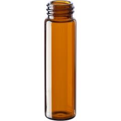 2 dram Amber Borosilicate Glass Vials, 15mm 15-425 (60mm)