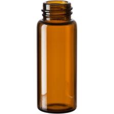 2 dram Amber Borosilicate Glass Vials, 15mm 15-425 (50mm)