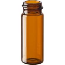 2 dram Amber Borosilicate Glass Vials, 18mm 18-400 (50mm)