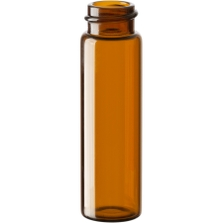 4 dram Amber Borosilicate Glass Vials, 18mm 18-400