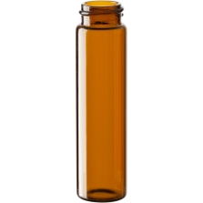 8 dram Amber Borosilicate Glass Vials, 22mm 22-400
