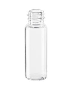 1/2 dram (2.2ml) Clear Borosilicate Glass Vials, 8mm 8-425