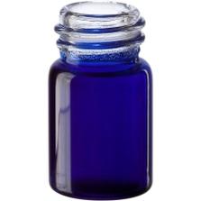 5/8 dram Cobalt Blue Borosilicate Glass Vials, 13mm 13-425