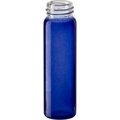2 dram Cobalt Blue Borosilicate Glass Vials, 15mm 15-425 (60mm)