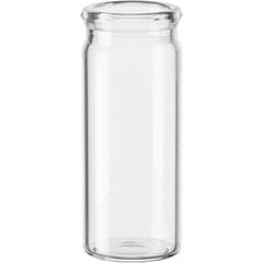3 dram Clear Borosilicate Glass Display Vials