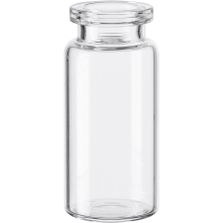 10 ml Clear A/S Blowback Type 1 Glass Serum Vials, 20mm