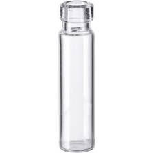 1/8 dram Clear Borosilicate Glass Cork Stopper Lip Vials (PC000)