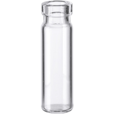 1/4 dram Clear Borosilicate Glass Cork Stopper Lip Vials (PC00)