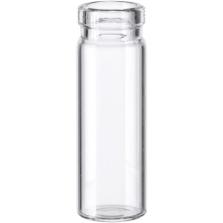 1/2 dram Clear Borosilicate Glass Cork Stopper Lip Vials (PC0)