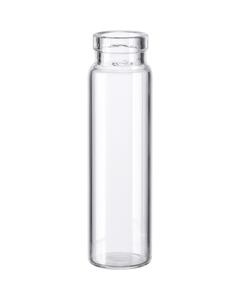 2 dram Clear Borosilicate Glass Cork Stopper Lip Vials (PC2)