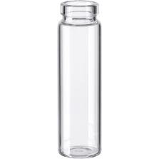 3 dram Clear Borosilicate Glass Cork Stopper Lip Vials (PC3)