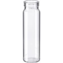 4 dram Clear Borosilicate Glass Cork Stopper Lip Vials (PC5)