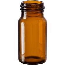 20 ml Amber Borosilicate Glass EPA Vials, 24mm 24-414