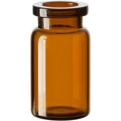 5 ml Amber A/S Blowback Type 1 Glass Serum Vials, 20mm