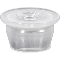 13mm Natural LDPE Plastic Orifice Reducer Fitment for Glass Vials