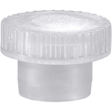 PS 1 Plastic Stopper for Glass Display Vials