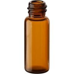 1/2 dram (1.9ml) Amber Borosilicate Glass Vials, 8mm 8-425