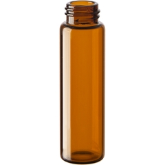 3 dram Amber Borosilicate Glass Vials 15mm, 15/425