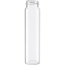 10 Dram Clear Borosilicate Glass Capsule Vials, 24mm 24-400