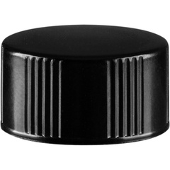 15mm 15-425 Black Phenolic Cap w/Tri-Foil® WP F217 Liner