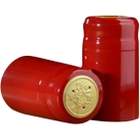 30 x 55mm Red Shiny PVC Capsules w/Tear Tab, 500/pk